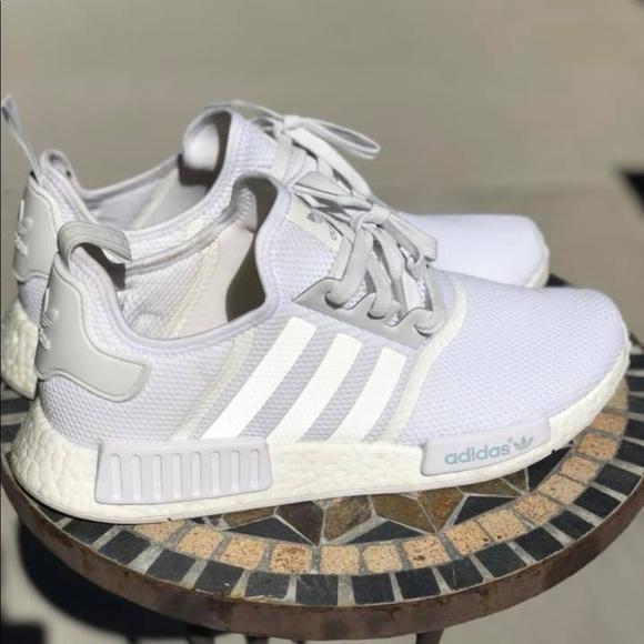 """sports shoes 2daa2 cd69e Adidas NMD R1 """"Triple White"""""""